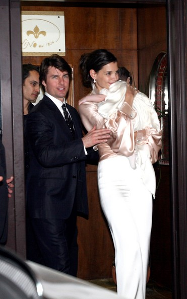 Tom Cruise In Tom Cruise And Katie Holmes Wedding
