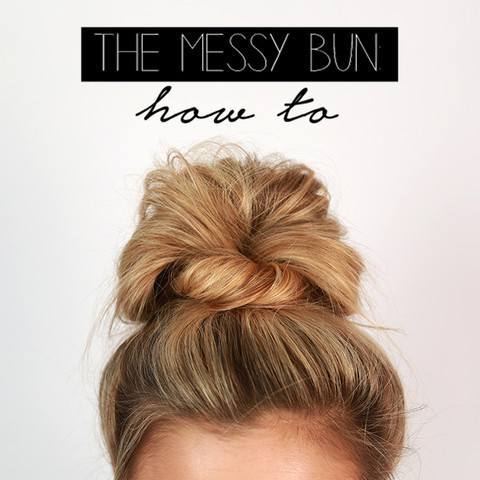 The Ultimate Messy Bun Easy Back To School Hairstyles To