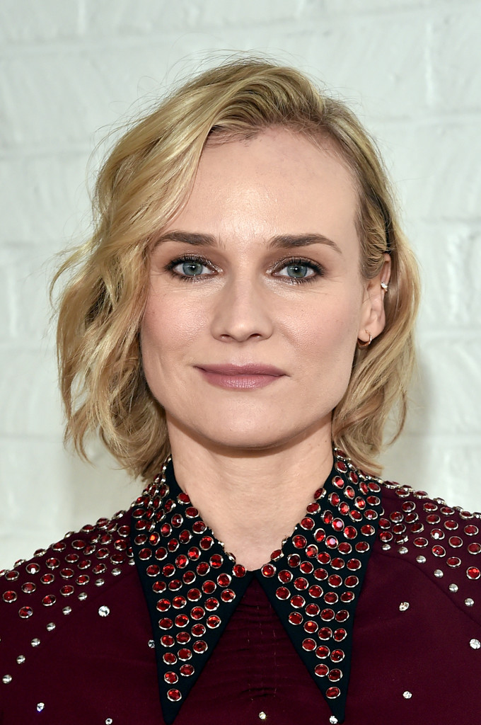 Diane Kruger Short Wavy Cut Short Hairstyles Lookbook