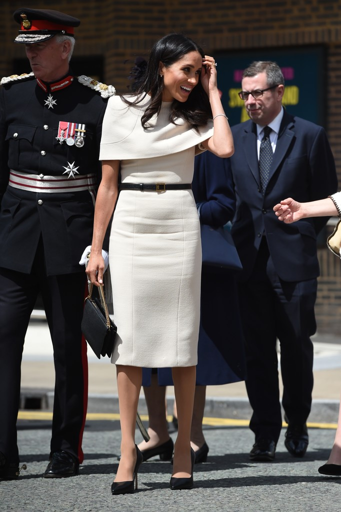 Meghan Markle Midi Dress Meghan Markle Clothes Looks
