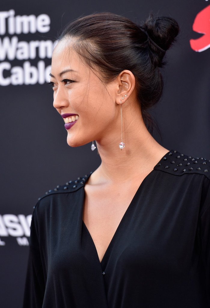 Michelle Wie Twisted Bun Michelle Wie Hair Looks