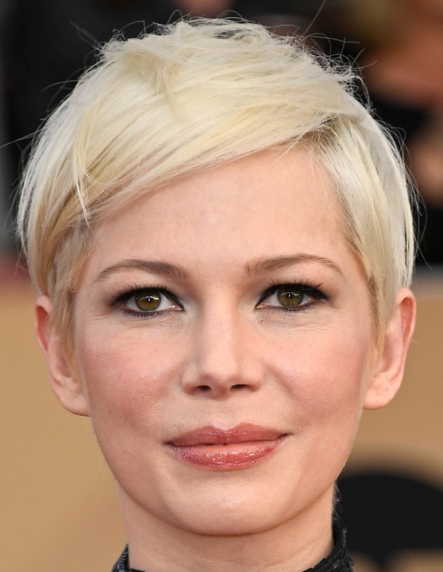 michelle williams short hairstyles - michelle williams hair