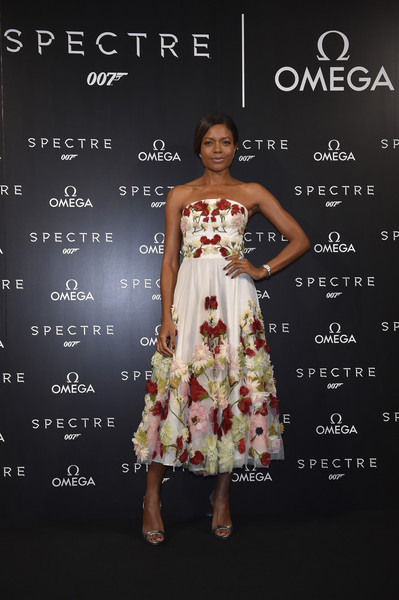 Naomie Harris Evening Dress