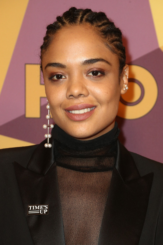 Tessa Thompson Braided Updo Tessa Thompson Looks