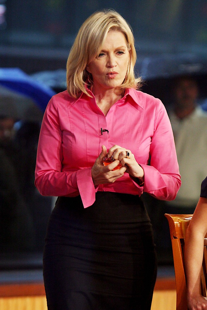 Diane Sawyer Button Down Shirt Diane Sawyer Looks