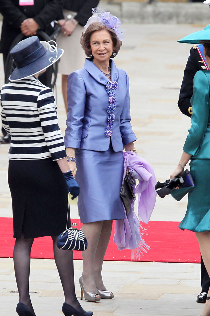 Queen Sofia Clothes Looks StyleBistro