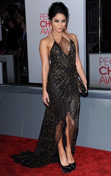 Vanessa Hudgens People's Choice Awards 2012.Nokia Theatre L.A. Live, Los Angeles, CA.January 11, 2012.