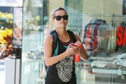 'Wild' actress Reese Witherspoon heads to the gym in Los Angeles, California with her son Deacon Phillippe on February 15, 2015. A poll of Americans has picked Reese take home the best actress Oscar this year, though most pundits believe Julianne Moore is the favorite to win.