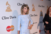 Singer-songwriter Taylor Swift attends the Pre-GRAMMY Gala and Salute To Industry Icons honoring Martin Bandier at The Beverly Hilton Hotel on February 7, 2015 in Beverly Hills, California.