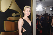 Recording Artist Miley Cyrus attends The 57th Annual GRAMMY Awards at the STAPLES Center on February 8, 2015 in Los Angeles, California.