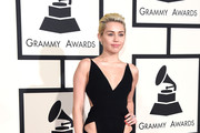 Singer Miley Cyrus attends The 57th Annual GRAMMY Awards at the STAPLES Center on February 8, 2015 in Los Angeles, California.
