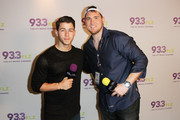 Brody of 93.3 FLZ interviews Nick Jonas at 93.3 FLZÂ's Jingle Ball 2014 at Amalie Arena on December 22, 2014 in Tampa, Florida.