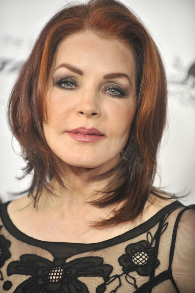 Priscilla Presley arrives for the 9th Annual G'Day USA Los Angeles Black Tie Gala on January 14, 2012 in Hollywood, California.