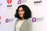Singer Jessie J poses backstage at the Q102's Jingle Ball 2014 at Wells Fargo Center on December 10, 2014 in Philadelphia, Pennsylvania.