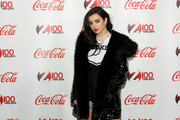Charli XCX attends Z100 & Coca-Cola All Access Lounge at Z100's Jingle Ball 2014 pre-show at Hammerstein Ballroom on December 12, 2014 in New York City.
