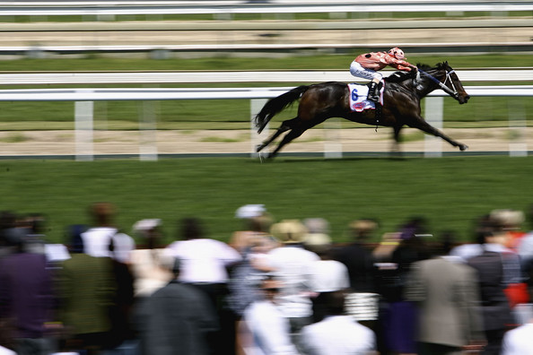 Black Caviar Luke Nolen riding Black Caviar leads the field to win race Four PFD Food Services Schillaci Stakes during Caulfield Guineas Day at Caulfield Racecourse on October 9, 2010 in Melbourne, Australia.