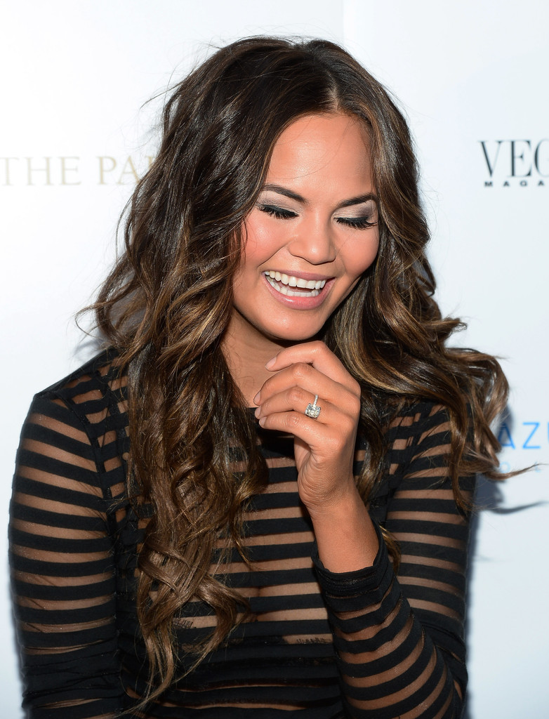 Chrissy Teigen In Chrissy Teigen Hosts A Las Vegas Party