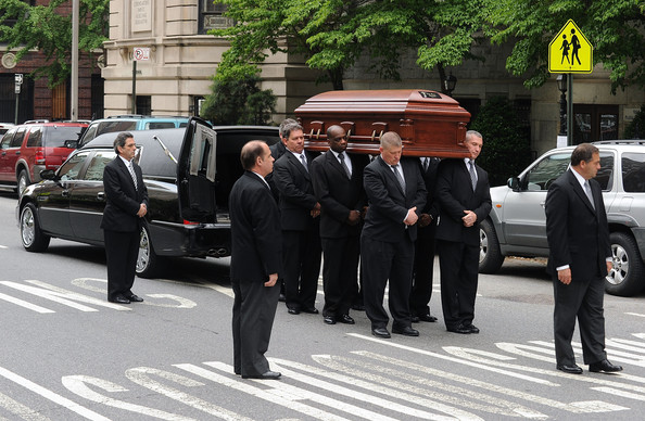 Family And Friends Attend Services For Entertainer Lena Horne