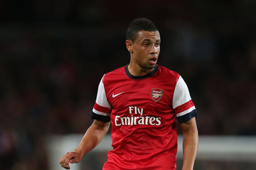 Francis Coquelin Arsenal v Coventry City - Capital One Cup Third Round