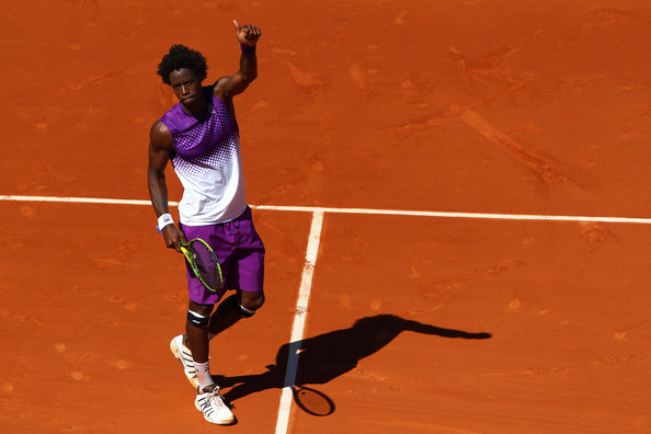 Gael Monfils - 2011 French Open - Day Four