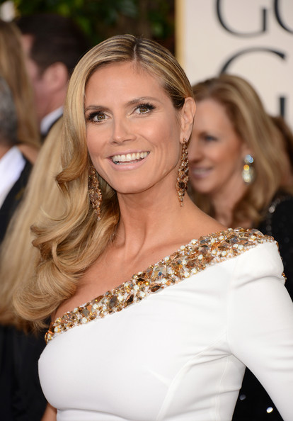 Heidi Klum TV personality Heidi Klum arrives at the 70th Annual Golden Globe Awards held at The Beverly Hilton Hotel on January 13, 2013 in Beverly Hills, California.