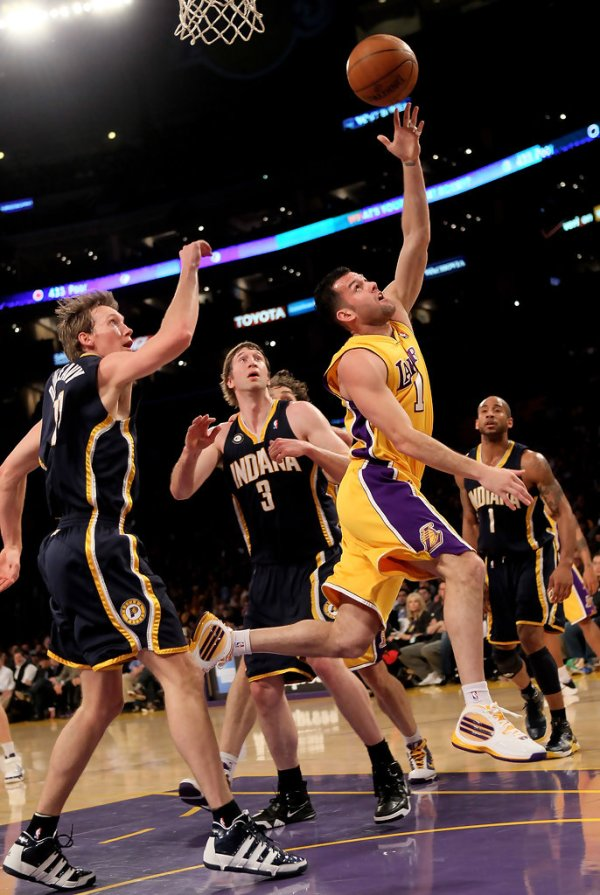 Troy Murphy and Jordan Farmar Photos Photos - Zimbio