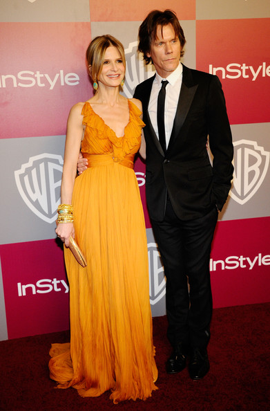 Kyra Sedgwick and Kevin Bacon - 2011 InStyle/Warner Brothers Golden Globes Party - Arrivals