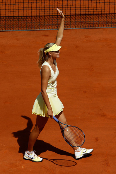 Maria Sharapova - 2011 French Open - Day Three