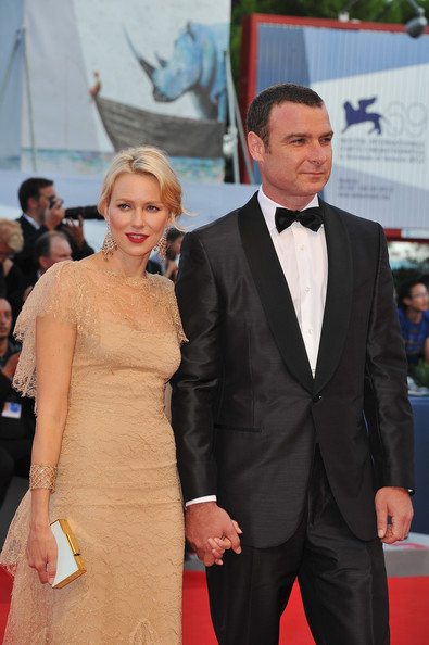 """Naomi Watts Actors Naomi Watts and Liev Schreiber attend """"The Reluctant Fundamentalist"""" Premiere And Opening Ceremony during the 69th Venice International Film Festival at Palazzo del Cinema on August 29, 2012 in Venice, Italy."""