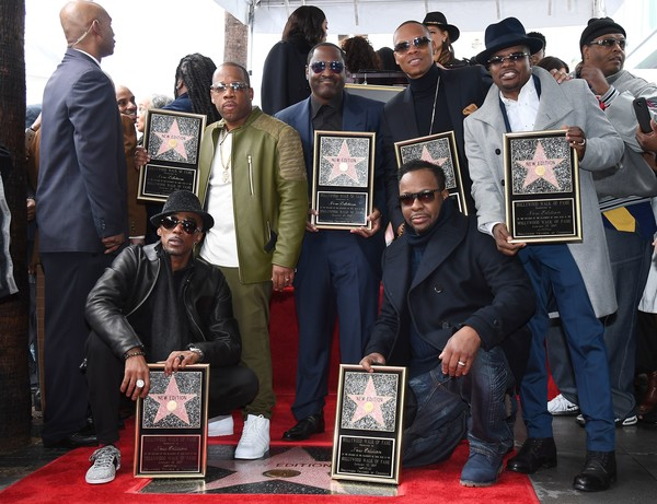 Image result for new edition + Hollywood Walk of Fame