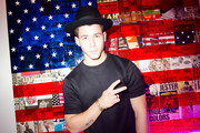 Nick Jonas poses for a photo during his Pop Up Performance at Peter Tunney Gallery on September 10, 2014 in New York City.