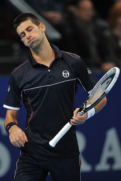 Novak Djokovic - Swiss Indoors Basel - Day Six