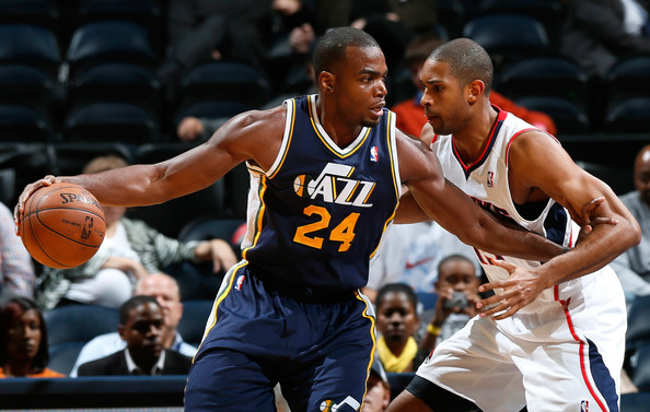 Paul Millsap - Utah Jazz v Atlanta Hawks