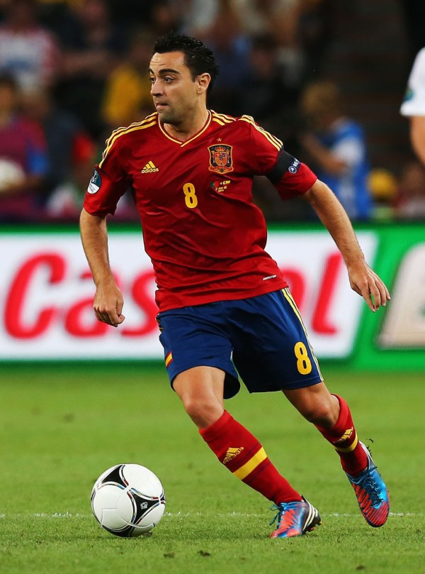 Xavi Hernandez Photos Photos - Portugal v Spain - UEFA ...
