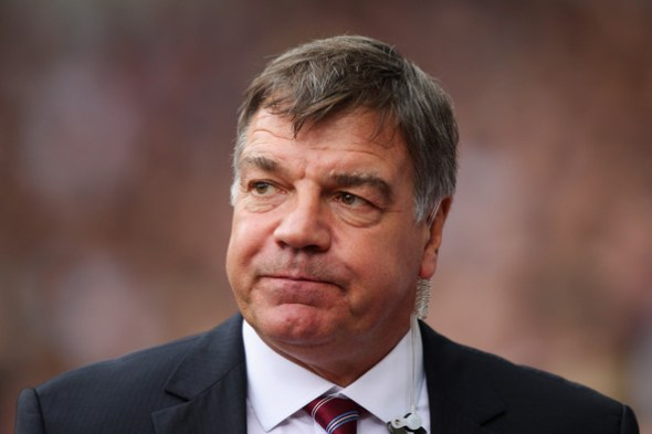Image result for pic of worried sam allardyce