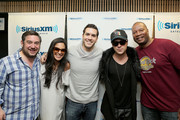(L-R) Ryan Sampson, Nicole Ryan, Rich Davis, Ryan Cabrera and Stanley T attend Hits 1's The Morning Mash Up Broadcast from the SiriusXM Studios on February 11, 2015 in Los Angeles, California.