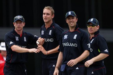 Stuart Broad Graeme Swann South Africa v New Zealand - ICC T20 World Cup