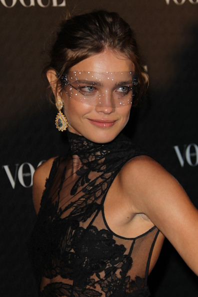 Natalia Vodianova attends Vogue 90th Anniversary Party at Hotel Pozzo di Borgo on September 30, 2010 in Paris, France.