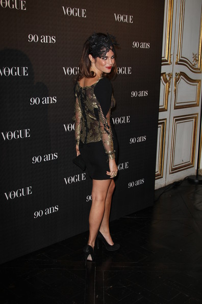 Julia Restoin-Roitfeld attends Vogue 90th Anniversary Party at Hotel Pozzo di Borgo on September 30, 2010 in Paris, France.