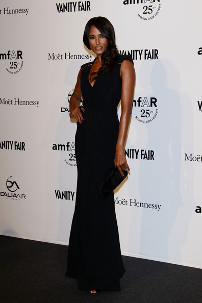 Jeanene Fox attends amfAR MILANO 2011 at La Permanente on September 23, 2011 in Milan, Italy.