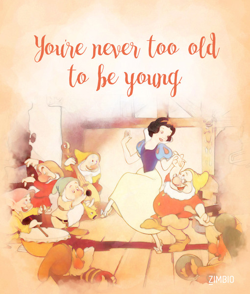 Age is nothing but a number   These Inspirational Disney Quotes Will     Age is nothing but a number