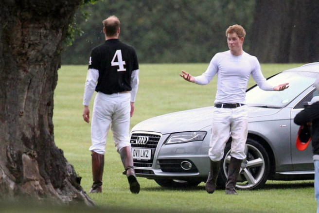 Prince William - Prince William Photos - Prince William and Prince Harry at  the Sentebale Polo Cup - Zimbio