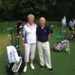 Sarah Bennett Coaching golfers with disabilities