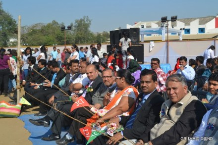 Dignitaries at Aeromodelling Show