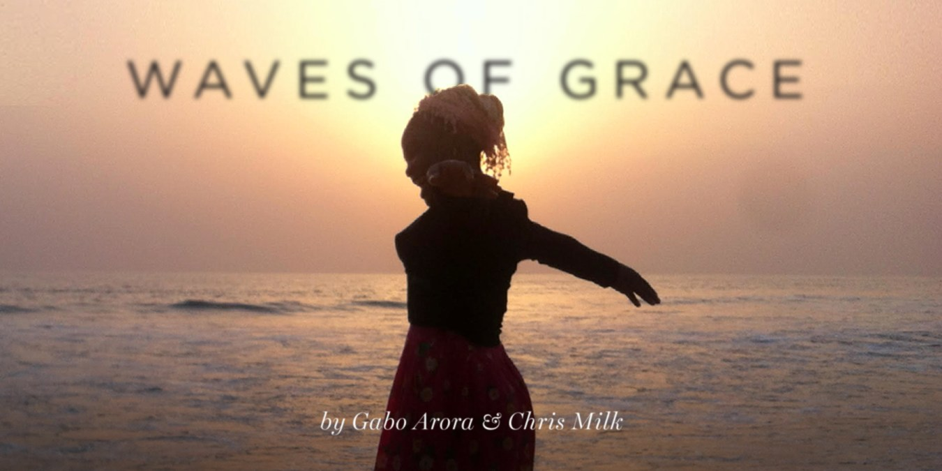 "Be one of the first to download new VR Film: ""Waves of Grace""!"