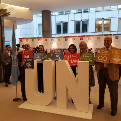UN Brussels heads of agency encourage leaders to take action on the SDGs at the European Parliament Photo: UN Brussels