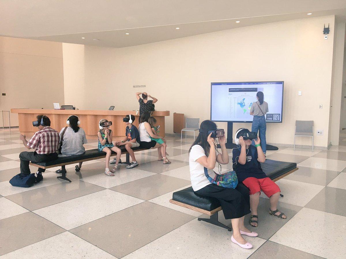 HLPF SDG Pop-up Exhibit at UN Visitors Lobby