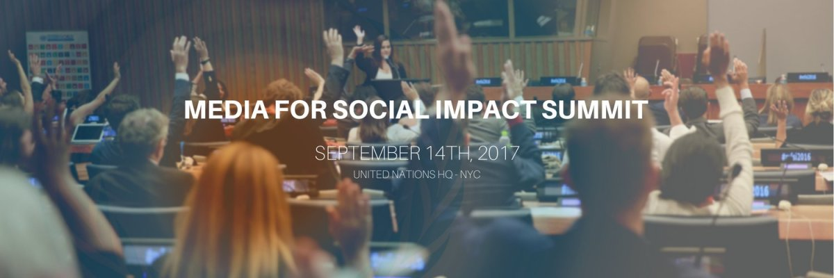 SDG Action Campaign @ Media for Social Impact Summit