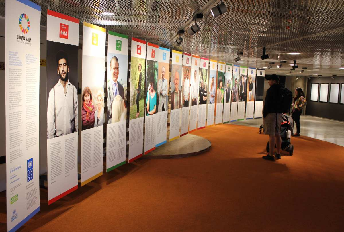 Sustainable Development Goals in Sweden: Humans of MY World, Exhibits, MY World & more!