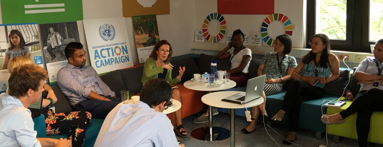 Marina Ponti has been appointed Head of the Global Campaign Center of the UN SDG Action Campaign in Bonn (Germany).